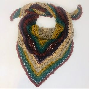 Homemade Handcrafted V Shaped Scarf